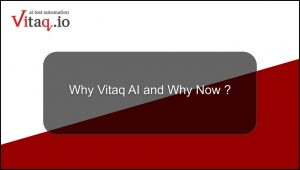 Why Vitaq AI & why now?
